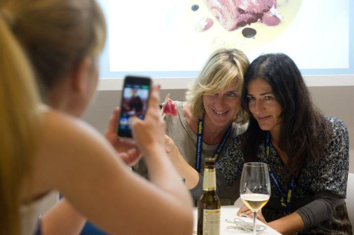 Catas y descanso en Gastronomika 2014