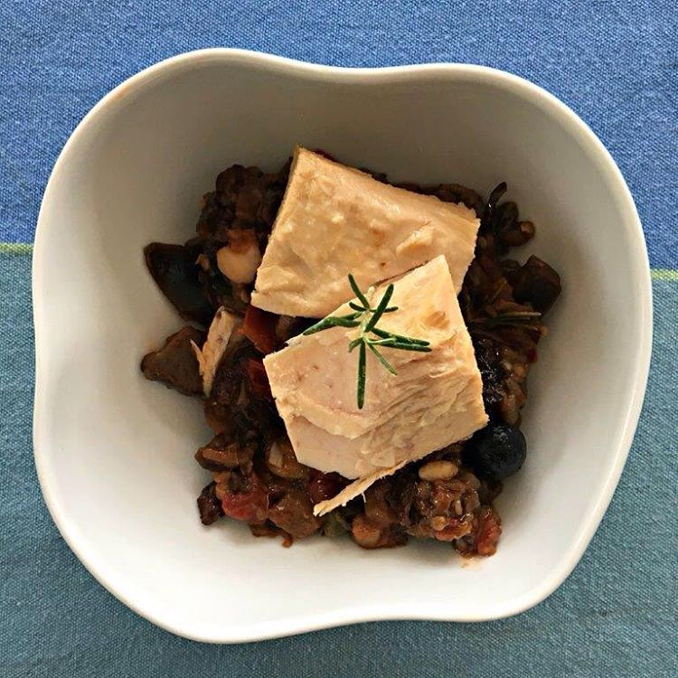 Una receta Mediterrnea con una Delicia del mar Cantbrico Elhellip