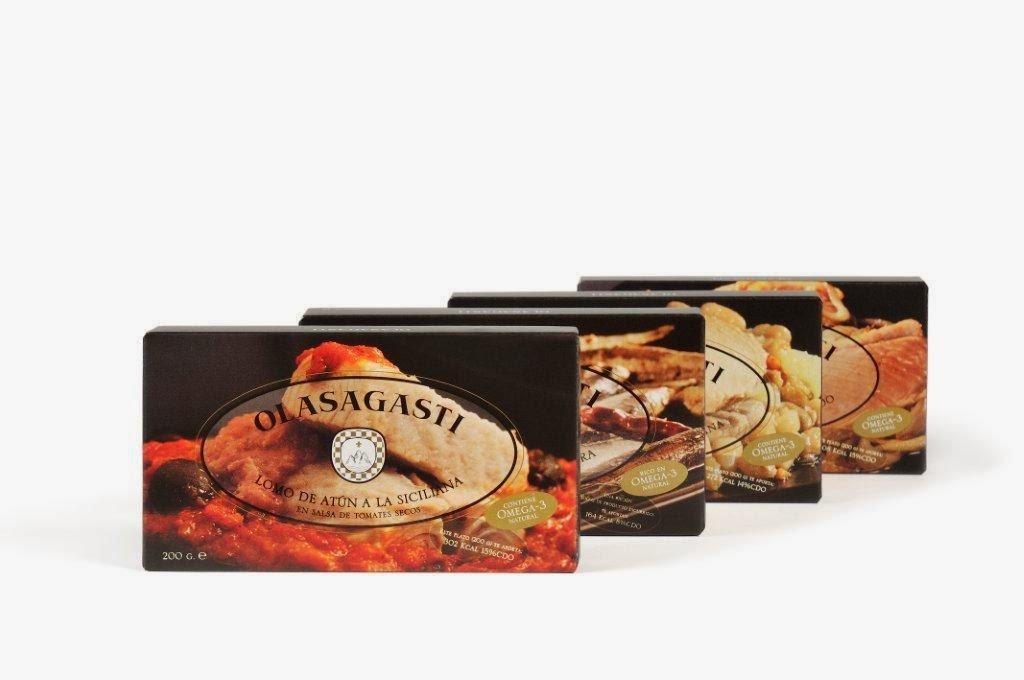Las cuatro recetas Olasagasti Abrir y Zampar