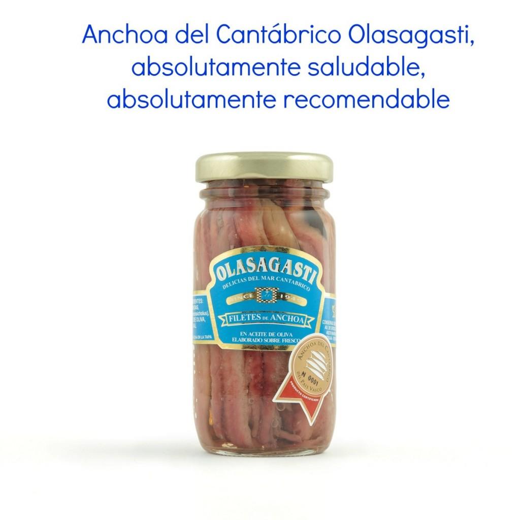 Anchoas sin anisakis en conservas Olasagasti