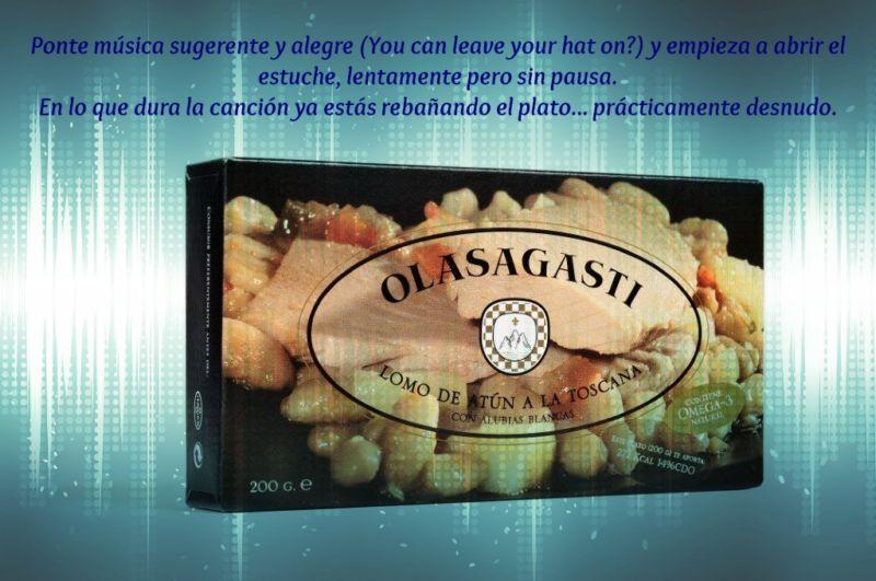 Atún con alubias Abrir y Zampar Olasagasti: striptease sano natural