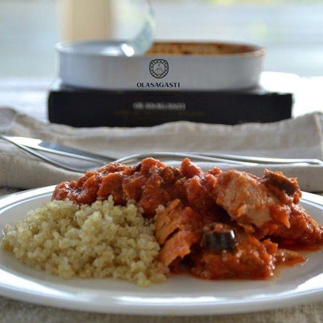Quinoa con atún a la siciliana Olasagasti Abrir y Zampar