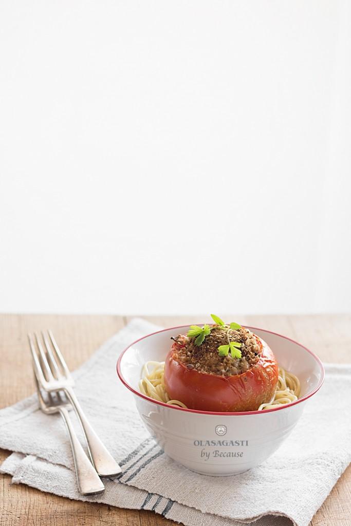 receta tomates rellenos de caballa Olasagasti por Because