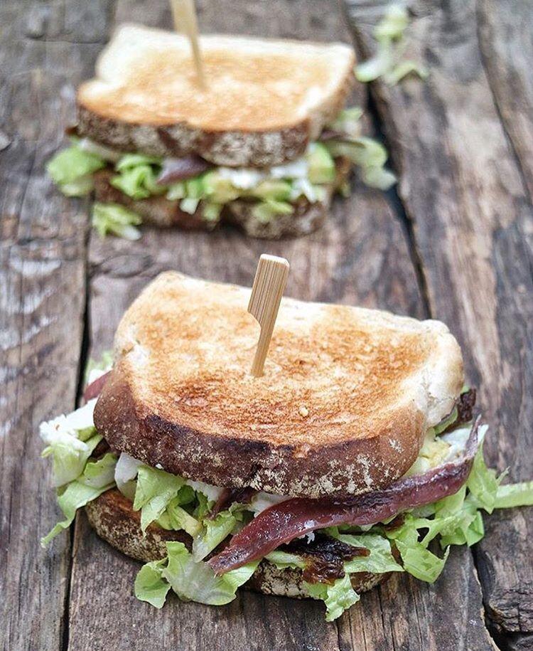 Celebramos el diamundialdelpan con este sndwich de lasrecetasdemj Buen panhellip