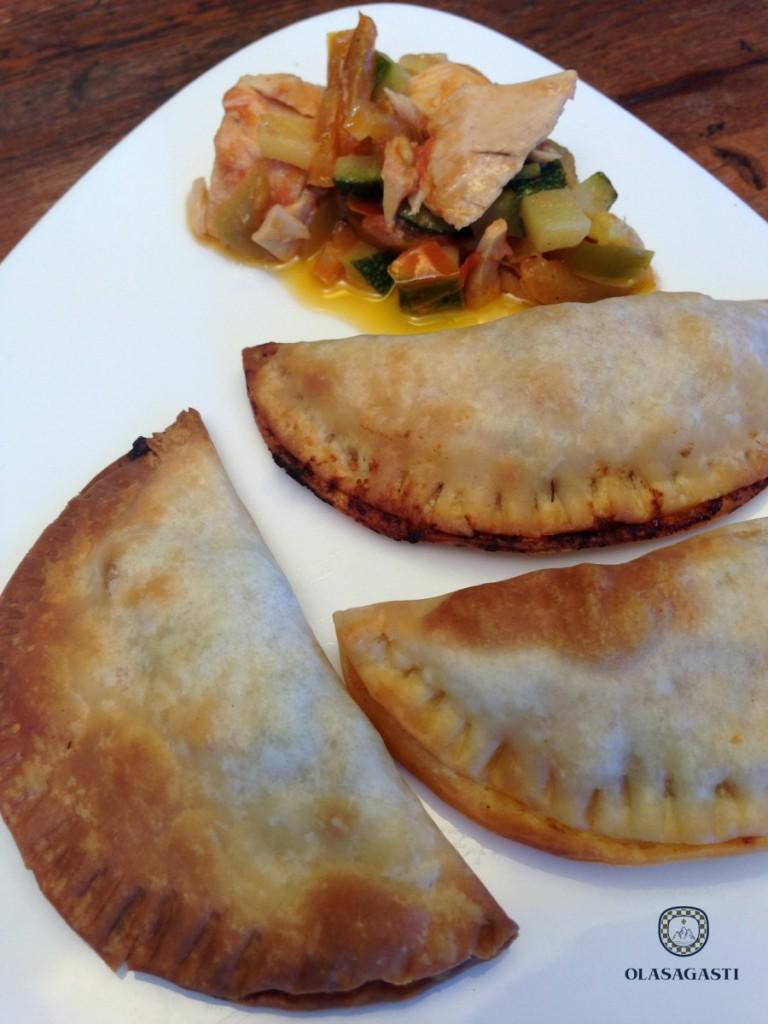 Empanadillas Olasagasti recién horneadas