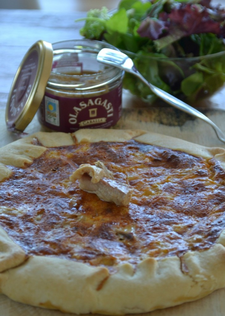 conservas-olasagasti-quiche-receta-con-caballa-calabaza-canned-fish-makerel-recipe
