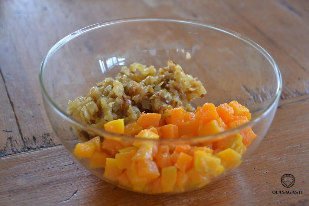 Ingredientes para la tarta ecológica de caballa Olasagasti