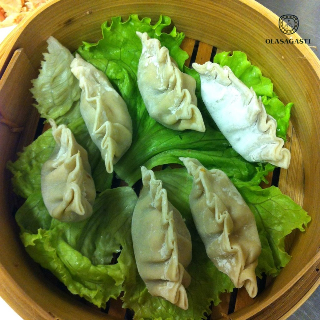 gyoza or dim sum with Bonito del Norte from Basque Country for recipes quality canned fish