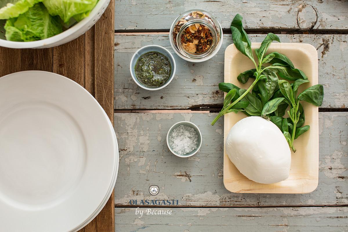 ensalada de pesto olasagasti en las recetas contra el calor