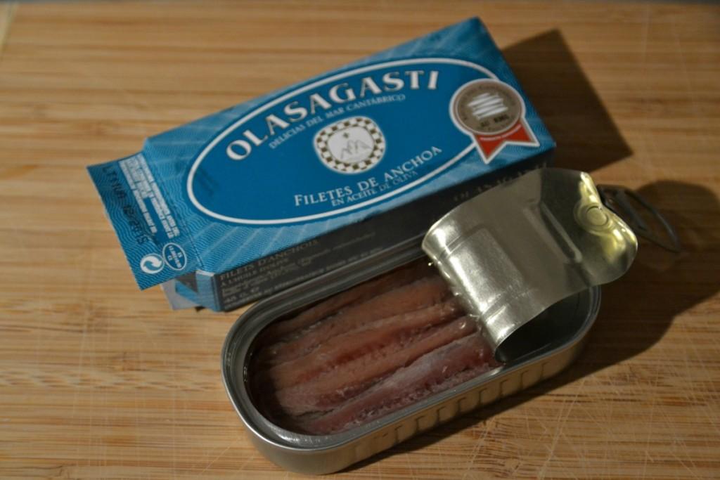 MSC pesca sostenible Anchoa del Cantábrico en los productos Olasagasti