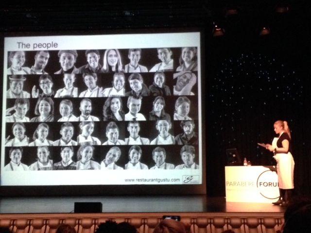 Intervención de Seidler en el Congreso Parabere Forum en Bilbao