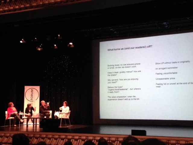 Allan Jenkins habla sobre crítica gastronómica en Parabere Forum