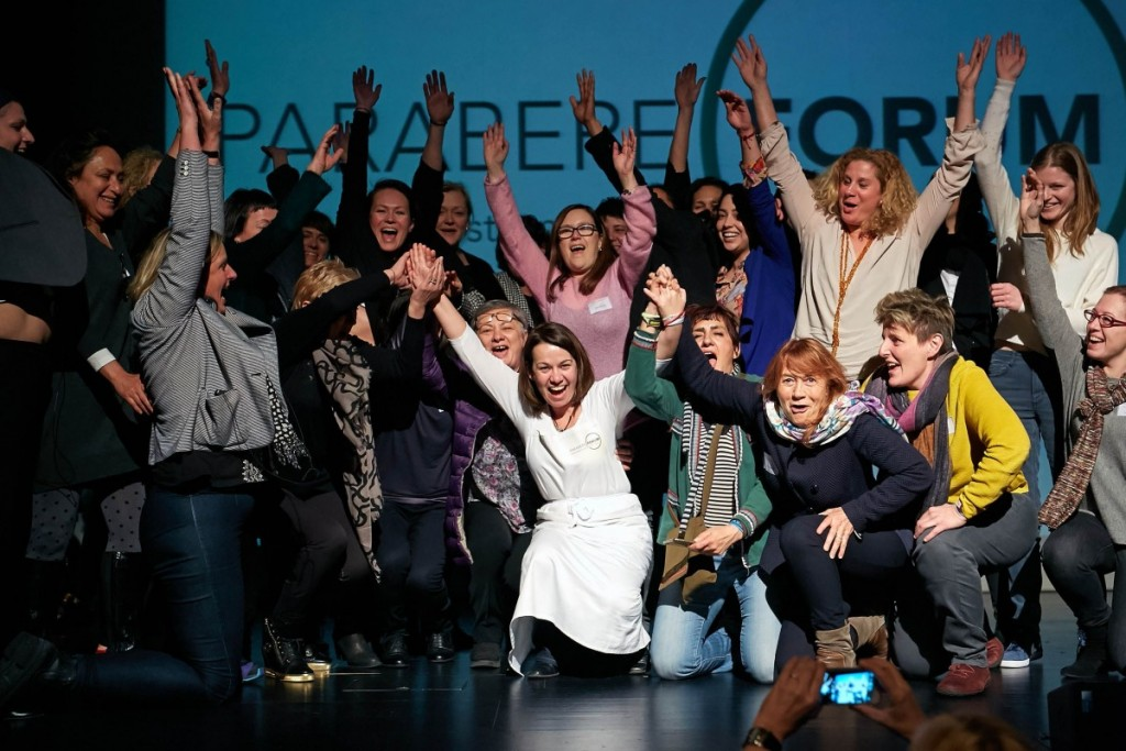Maria Canabal y el resto de las ponentes en Parabere Forum 2015 Bilbao