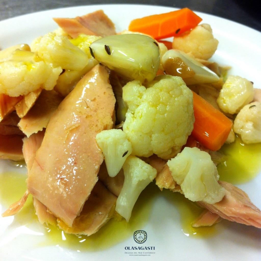 conservas-olasagasti-atun-claro-coliflor-zanahoria-ensalada-sana-dieta-saludable