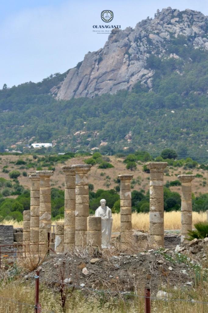 Ruinas romanas de Baelo Claudia que vivía del atún rojo en época romana