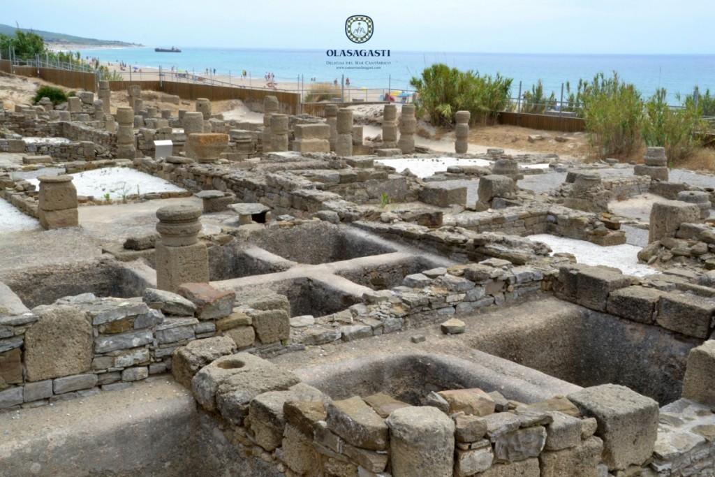 Ruinas del museo de Baelo Claudia, clave para conocer la historia del atún rojo