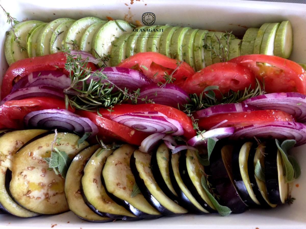verdura a diario para comer con conciencia de manera saludable