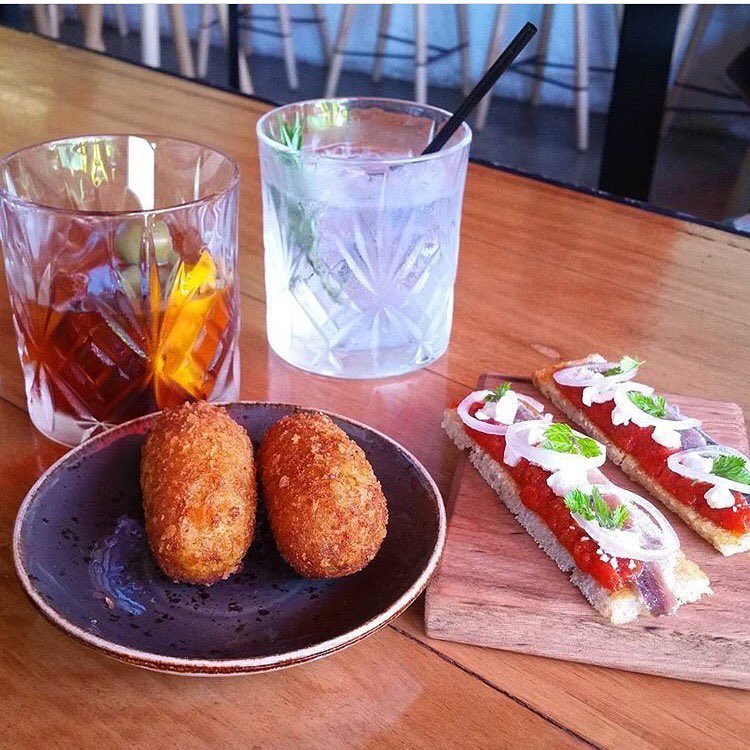 Thanks kinoponce for sharing this amazing aperitivo at chulobar Wehellip