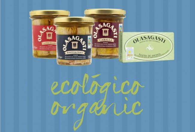 productos ecológicos Conservas Olasagasti