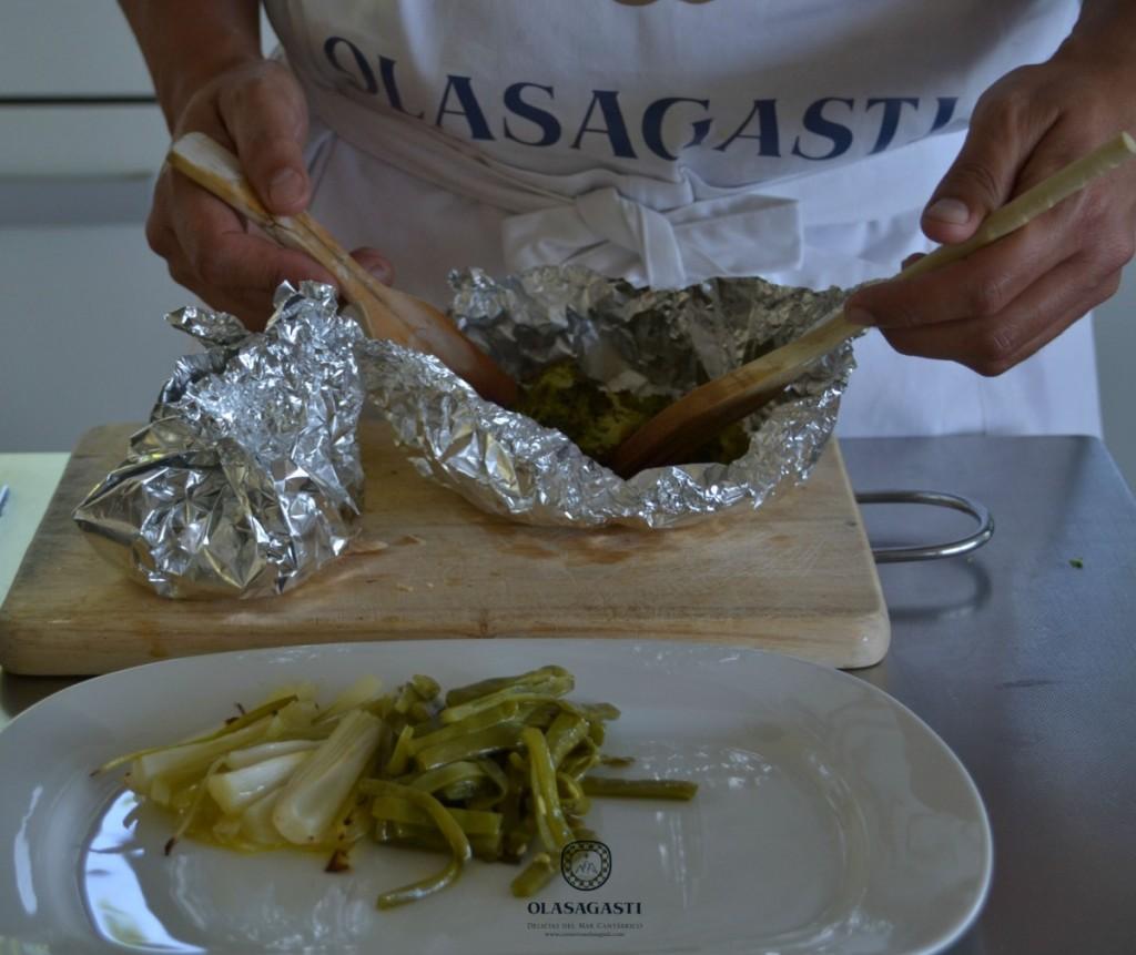 conservas-olasagasti-papillote-verduras-receta-anchoas-donostiarra-horno-dieta-saludable