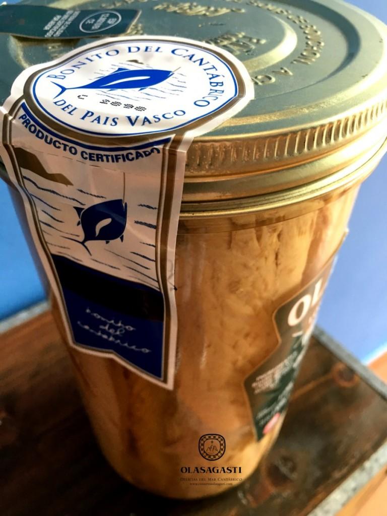 Auténticos lomos de bonito del norte del Cantábrico con sello de garantía