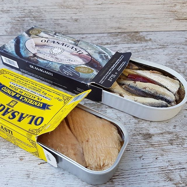 tuna belly fillets and anchovies, quality canned fish at Sirha 2017