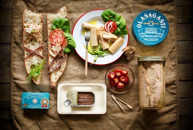 Bonito, atún y anchoas Olasagasti, conservas de calidad en Sirha 2017