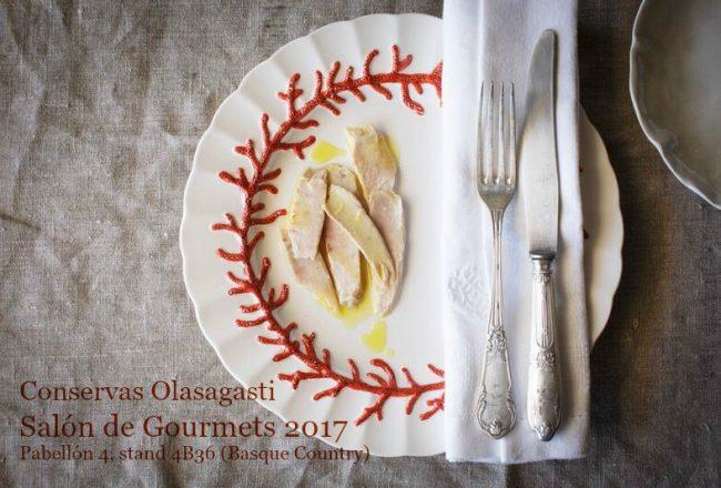 ventresca olasagasti en salón de gourmets