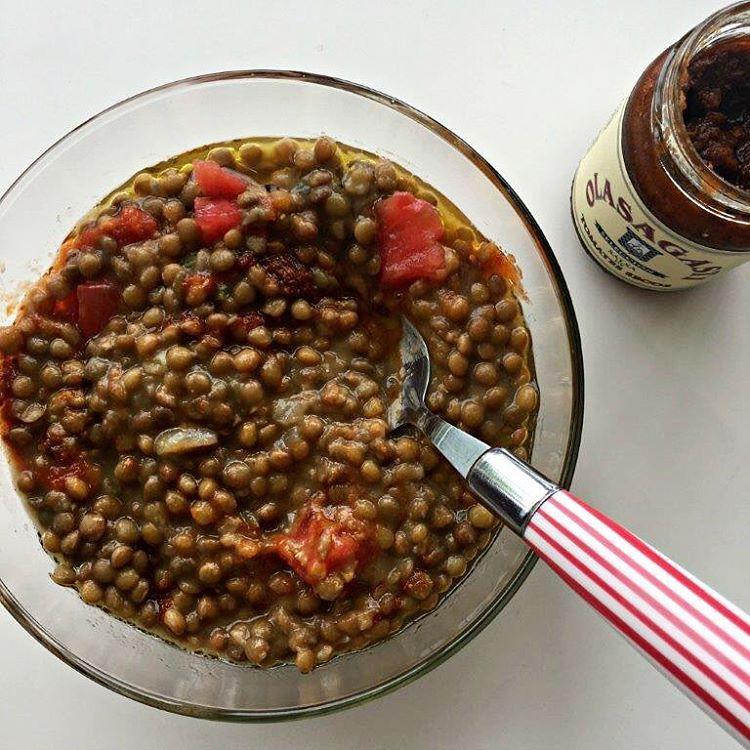 Lentejas con 3 tomates en el post de hoy Muchahellip
