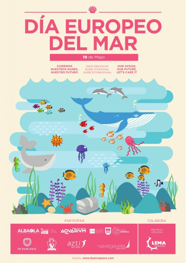 Cartel Día Europeo del Mar