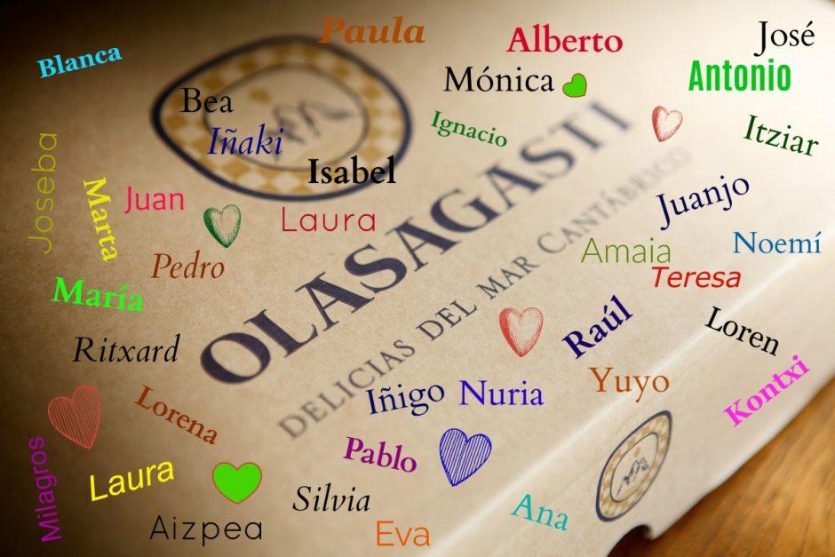 Olasagasti premia a 5 ganadores del lote Tradición por vuestra simpatía y participación