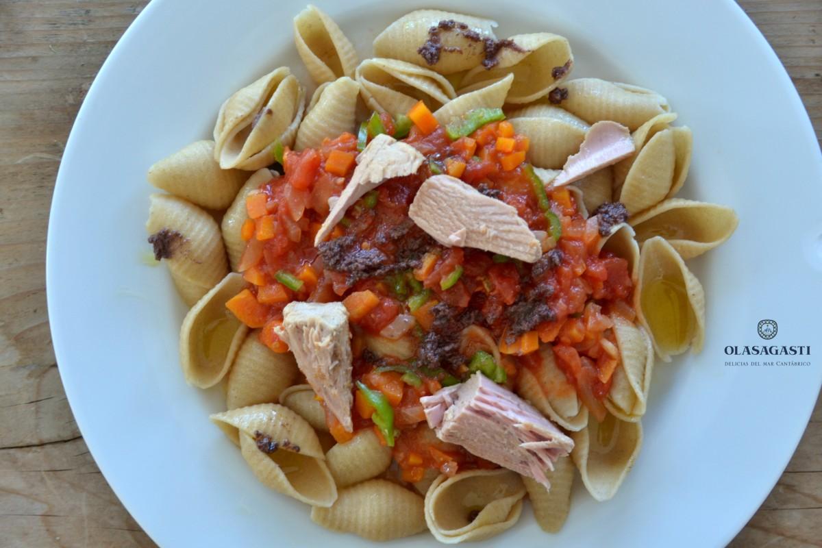 Las ensaladas son para el verano blog de conservas for Ensalada de pasta integral