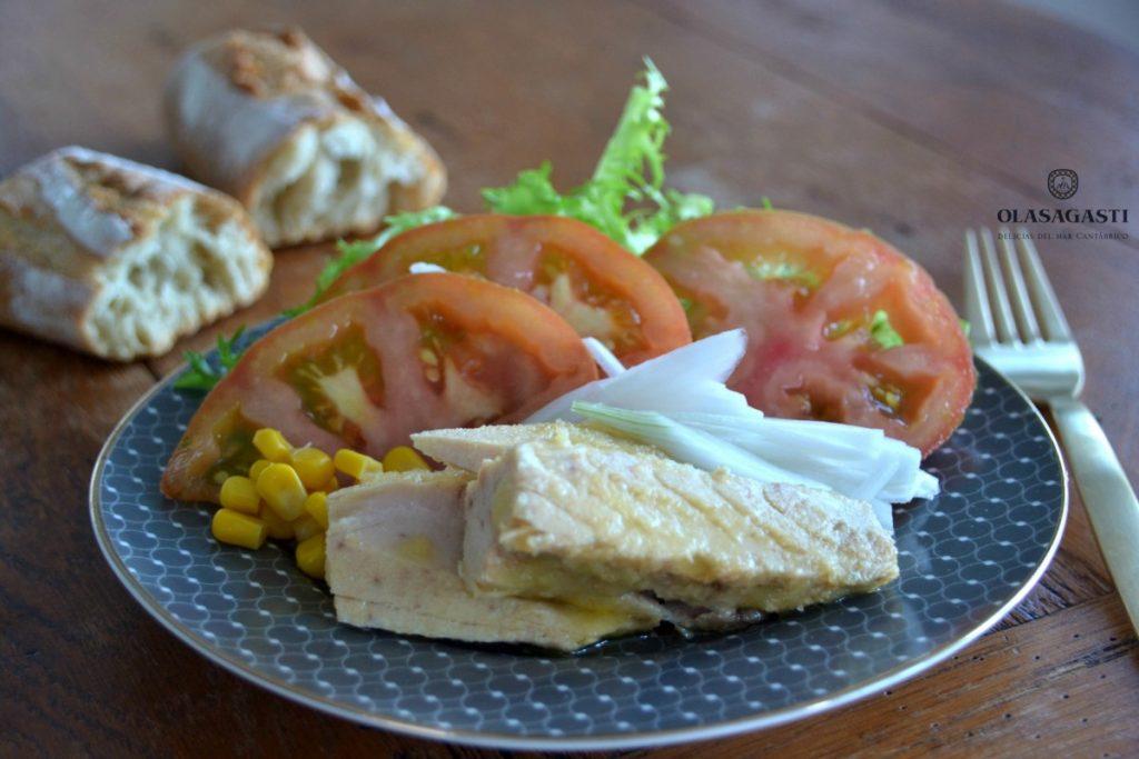 Bonito del Norte Olasagasti para las ensaladas son para el verano