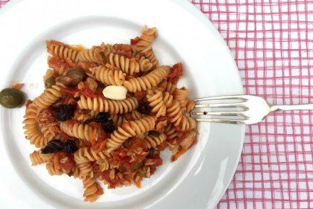 mi receta favorita de pasta con atún en conserva Olasagasti