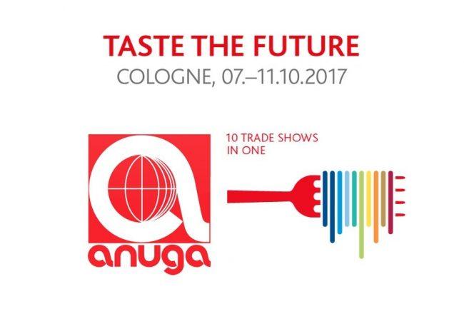 cartel feria Anuga de Colonia 2017