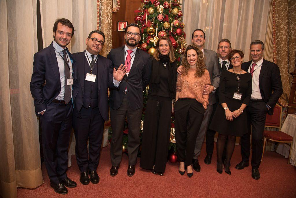Invitados a la entrega del premio a Olasagasti como mejor empresa española en Italia