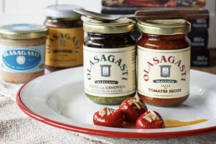 Las salsas italianas de Conservas Olasagasti