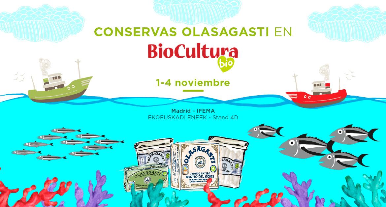 Conservas del Cantábrico en Biocultura