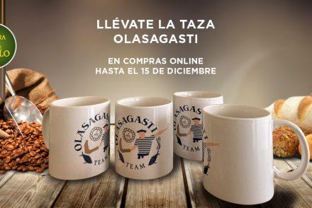 La taza Olasagasti Team como regalo por tu compra online