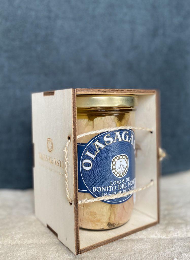 Regala una caja Kofradia de lomos de bonito Olasagasti