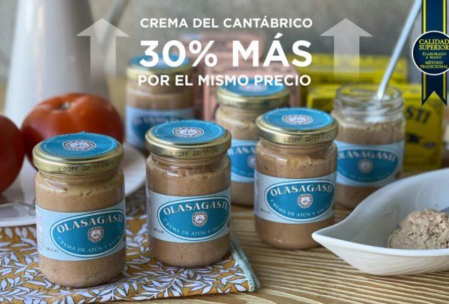 Crema de atún y anchoas Olasagasti