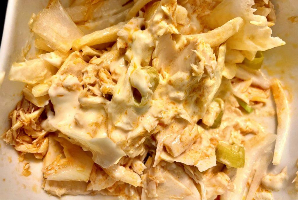 mezcla de mayonesa y bonito del norte Olasagasti la Marquinesa