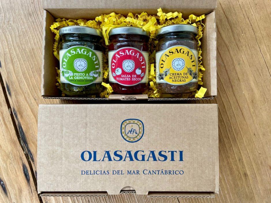Salsas italianas de conservas Olasagasti