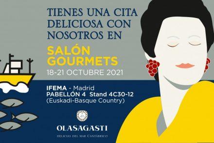 Conservas Olasagasti en el 34 salón de gourmets de Madrid