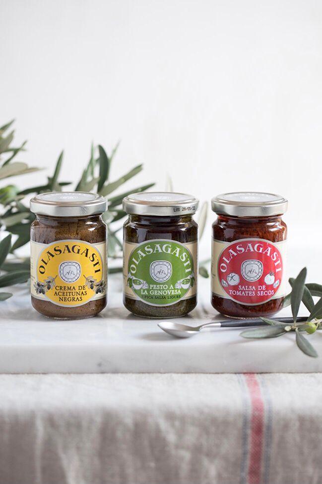 Las tres salsas italianas de Olasagasti estarán condimentando su stand en el 34 salón de gourmets.